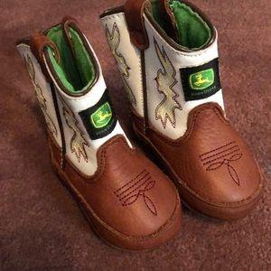 John Deere cowboy boots for baby